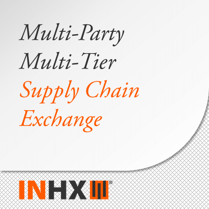 Multi-Party Multi-Tier Supply Chain Exchange