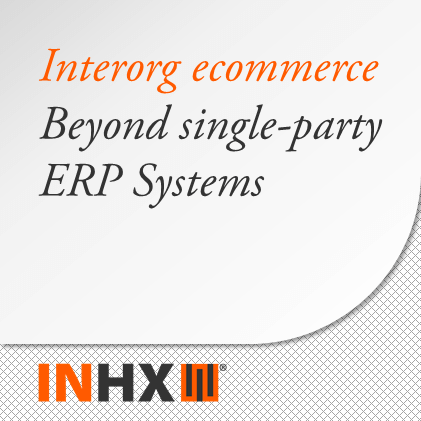 Inter-org eCommerce Beyond Single-Party ERP Systems