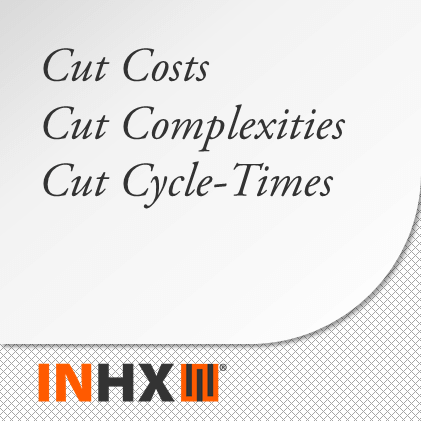 Cut Costs; Cut Complexities; Cut Cycle-Time